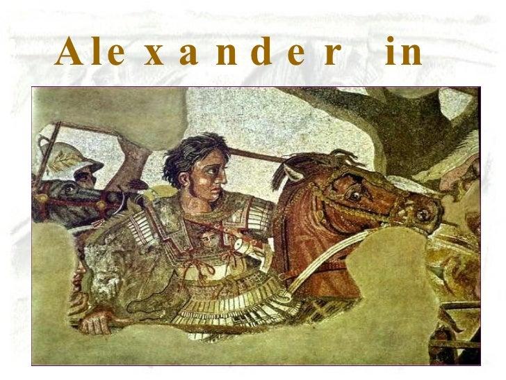 Alexander  in Persien