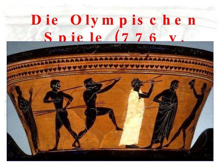 Die Olympischen Spiele (776 v. Chr.)