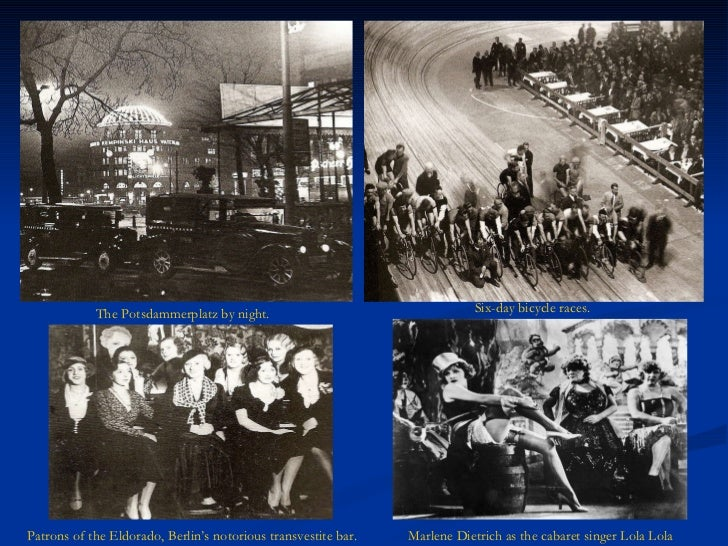 weimar society and culture Cinema and film industry in weimar republic, 1918-1933  writing about film became a way of discussing issues relevant to culture and society at large in contrast .
