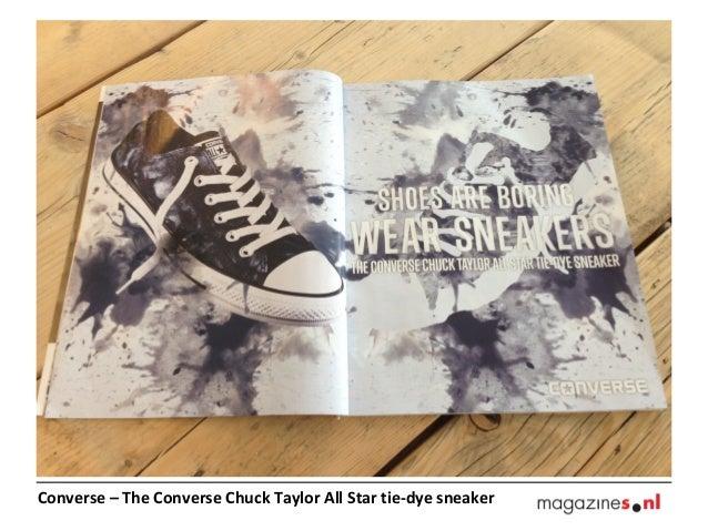Converse – The Converse Chuck Taylor All Star tie-dye sneaker