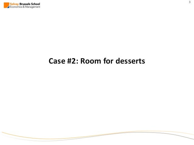 Business plan for room for dessert