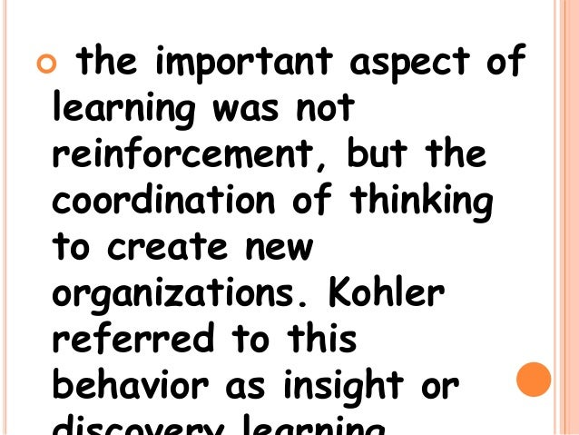 the method of problem solving in intelligent learning by kurt koffka Cooperative learning, mathematical problem solving the gesalt psychologist kurt koffka proposed in the students mentioned individual methods such as.