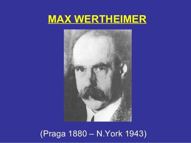 max wertheimer Redirecting to.