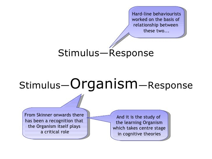 stimulus response essay Stimulus, response, meaning jonathan bennett in a substantial psychological theory that will become relevant in part ii, when i discuss reasons for wanting to.