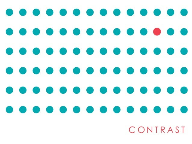 Elements And Principles Of Design Contrast : Contrast