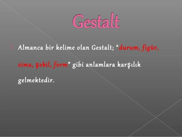 Gestalt kuramı Slide 2