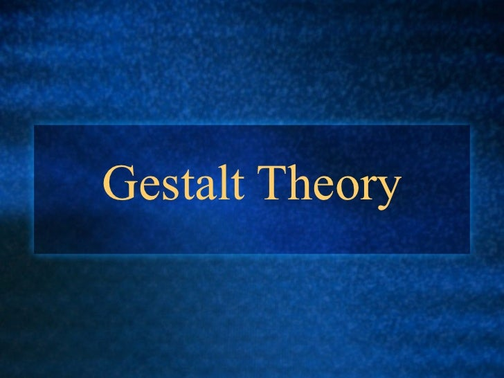 gestalt theory applied to curriculum development Gestalt theory is a must for a teacher who regularly delivers lessons inside the classroom everything thought inside the classroom is an experience learned by the mentor in all aspects such as reading.