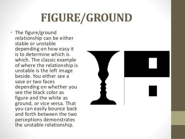 stable figure ground relationship law of continuity and principle closure