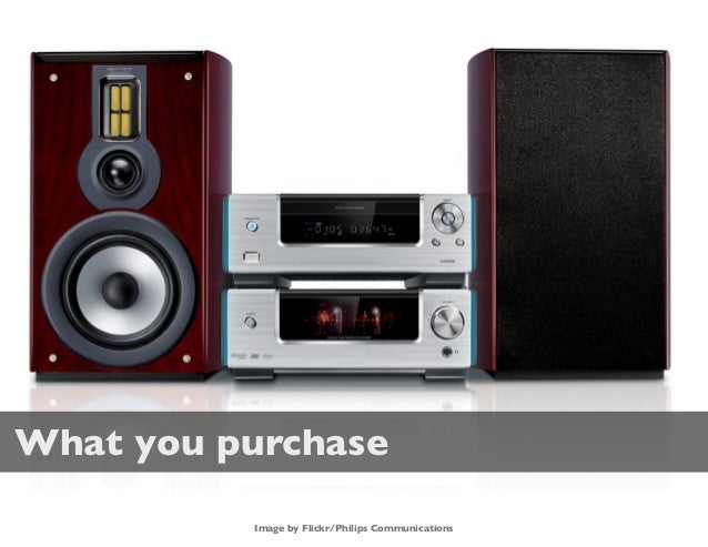 What you purchase          Image by Flickr/Philips Communications