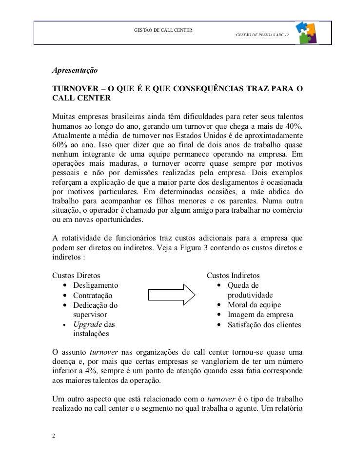 Gestao De Call Center Tcc Fgv 2009