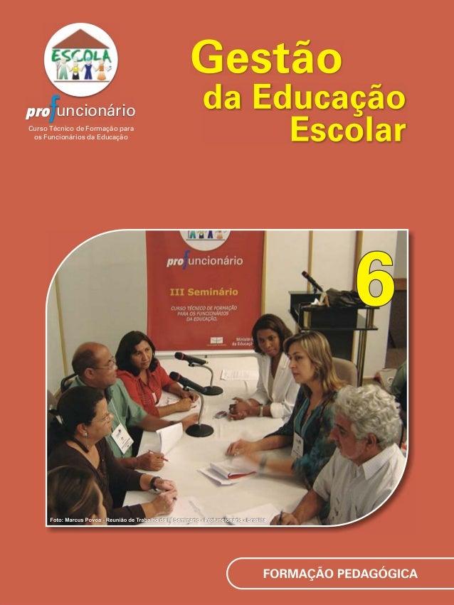 pro uncionário Curso Técnico de Formação para os Funcionários da Educação