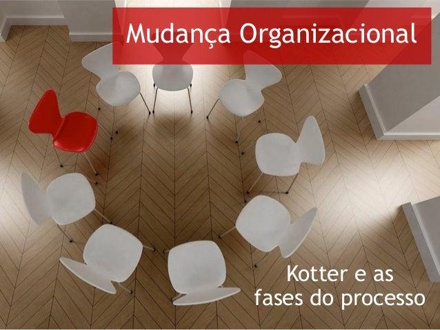 Kotter e as fases do processo Mudança Organizacional