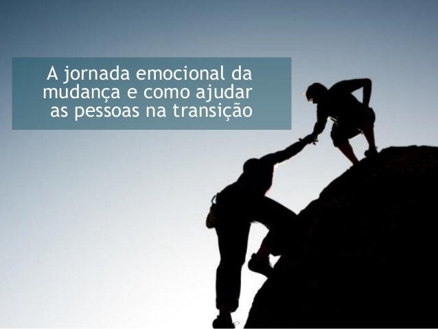 A jornada emocional da mudança e como ajudar as pessoas na transição