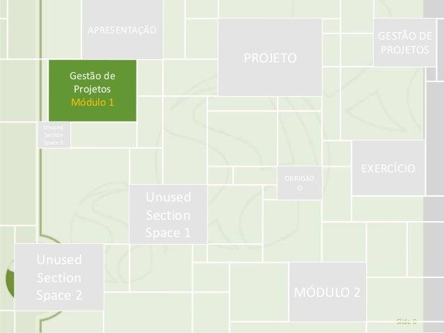 Slide 0 Gestão de Projetos Módulo 1 APRESENTAÇÃO PROJETO GESTÃO DE PROJETOS EXERCÍCIO OBRIGAD O MÓDULO 2 Unused Section Sp...