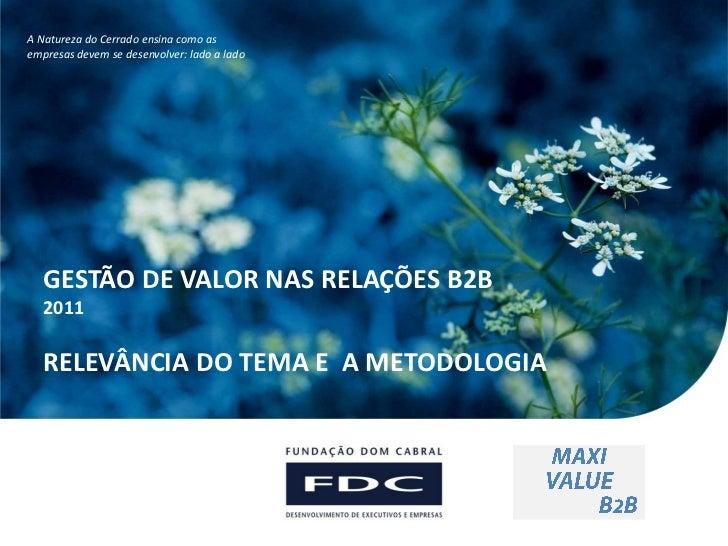 Parcerias InternacionaisA Natureza do Cerrado ensina como asempresas devem se desenvolver: lado a lado                    ...