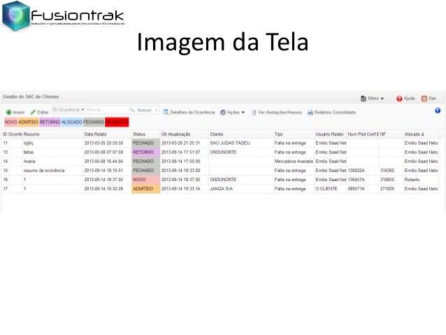 Imagem da Tela