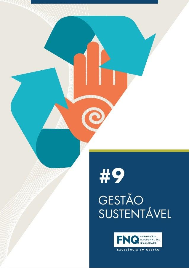 #9 GESTÃO SUSTENTÁVEL