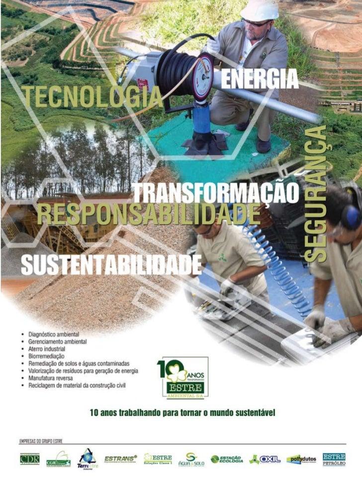 Setembro/Outubro 2009   Revista Meio Ambiente Industrial 27