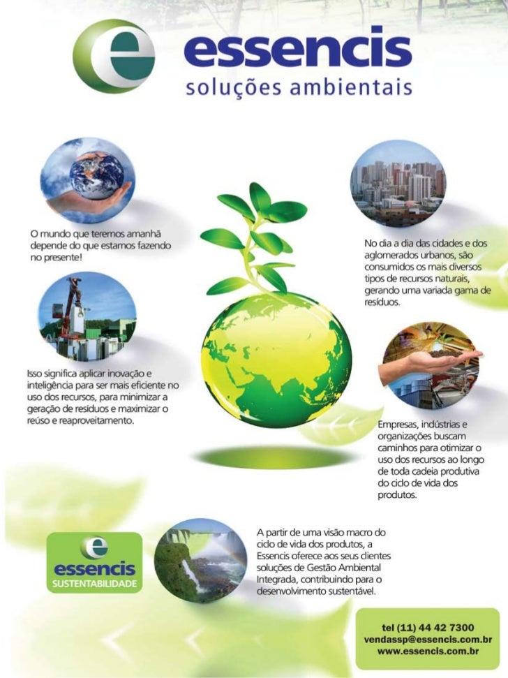Setembro/Outubro 2009   Revista Meio Ambiente Industrial 31
