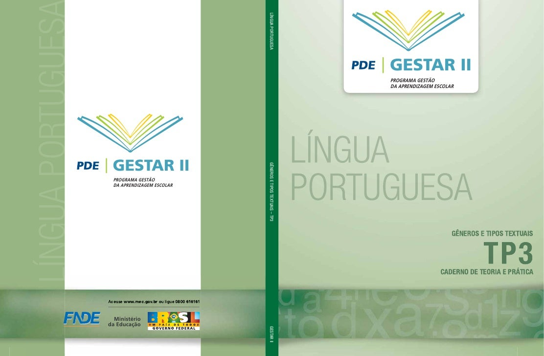 LÍNGUA PORTUGUESA LÍNGUA PORTUGUES                                                               GESTAR II                ...