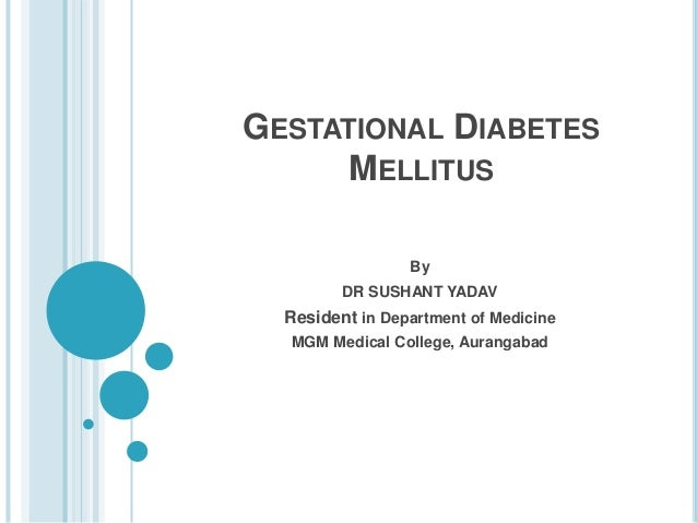 gestational diabetes 2 essay