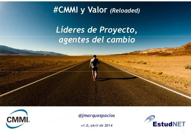1 1 Optimización de procesos/herramientas y acreditación del Nivel 3 del estándar internacional CMMI For Dev. V1.3 #CMMI y...