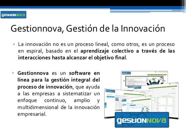 Gestionnova gestion integral del proceso de innovacion - Gestion integral de proyectos ...