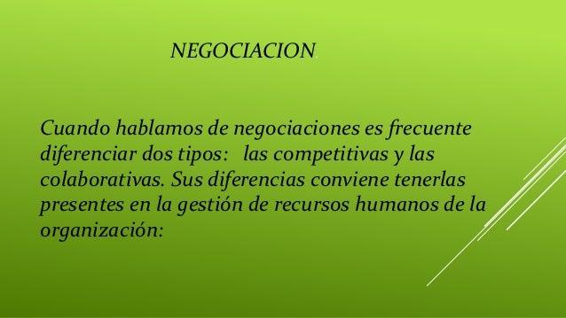 Cuando hablamos de negociaciones es frecuente diferenciar dos tipos: las competitivas y las colaborativas. Sus diferencias...