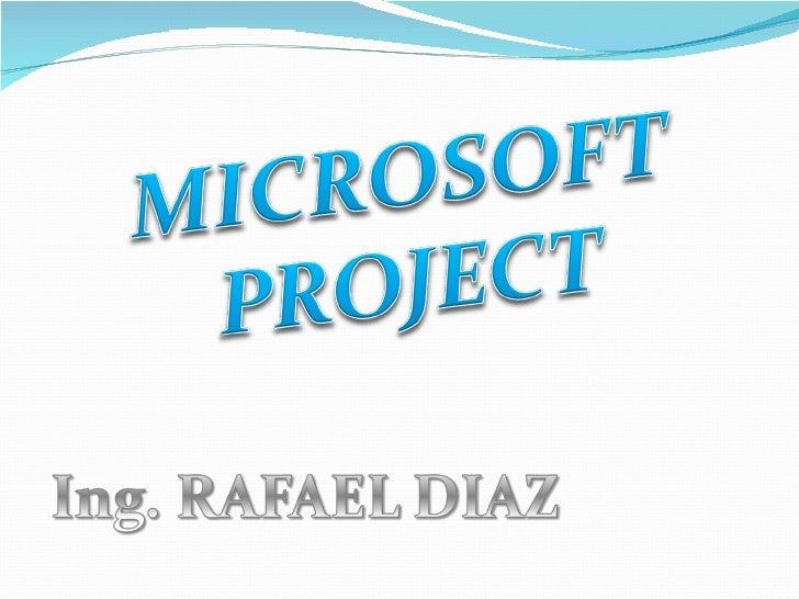    Desde luego, todo proyecto se puede gestionar sin un    programa informático.   Sin duda, la buena experiencia y sabe...