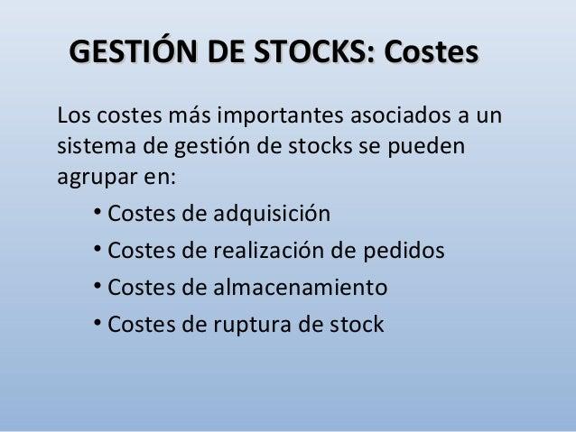 3-3- Utilizar sistemas automatizados de clasificación, almacenaje y dispensación (Kardex®) GESTIÓN DE STOCKS: TécnicasGEST...