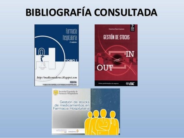 BIBLIOGRAFÍA CONSULTADABIBLIOGRAFÍA CONSULTADA