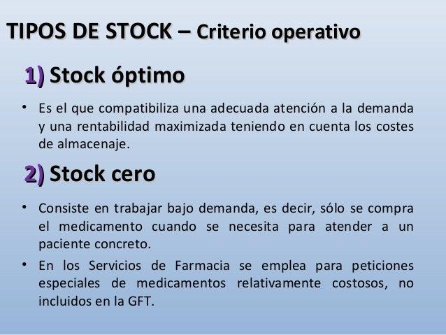ÍNDICEÍNDICE • Gestión de stocks – Objetivos – Factores – Costes – Técnicas • Stocks – Definición – Tipos • Aprovisionamie...