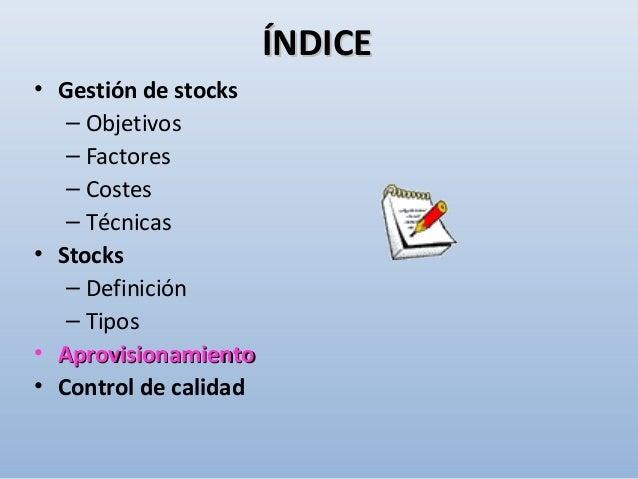 • MODELOS DETERMINISTAS DE GESTIÓN DE STOCKS: APROVISIONAMIENTO -APROVISIONAMIENTO - ¿Cuándo pedir?¿Cuándo pedir? 1-1- Por...