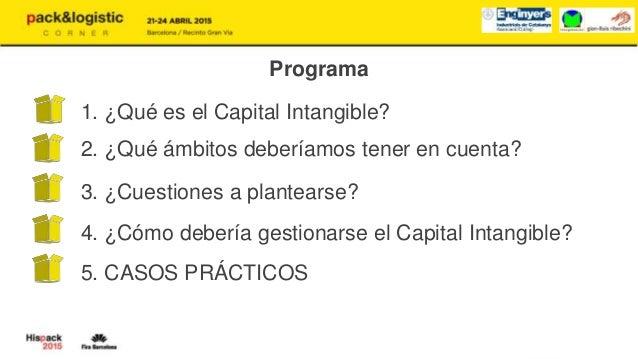 Gestión Estratégica del Capital Intangible de la empresa para su rentabilización Slide 2