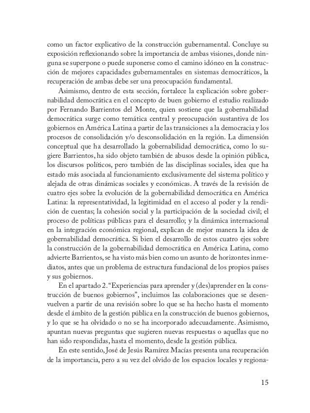 16 les, o espacios territoriales, en la construcción de los gobiernos y la manera como se ha asumido desde el enfoque de l...