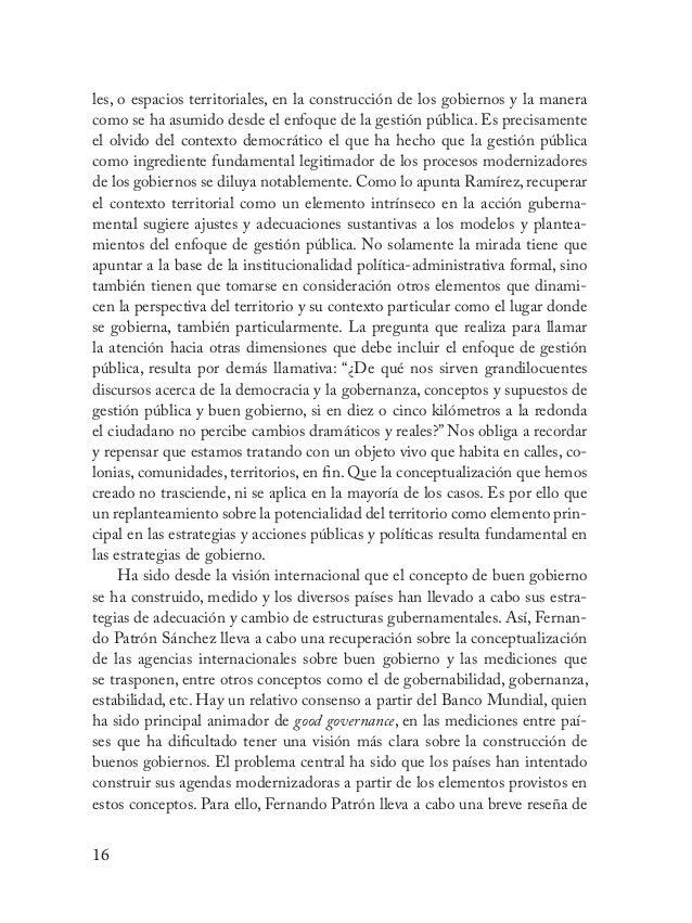 17 las acciones emprendidas en México con la agenda de buen gobierno, asimis- mo, presenta las mediciones internacionales ...