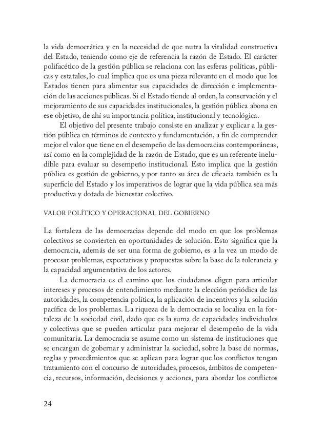 """25 (Przeworski, 1995: 18) y problemas de manera pacífica. Por eso la democra- cia no debe entenderse únicamente como """"el g..."""