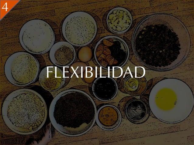 4    FLEXIBILIDAD
