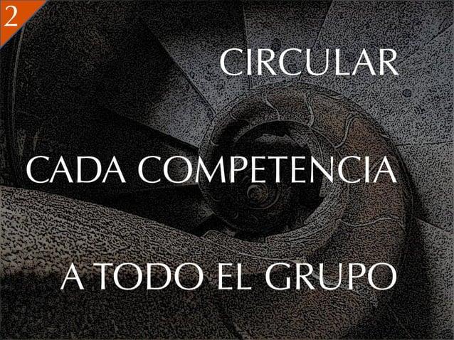 2            CIRCULAR    CADA COMPETENCIA     A TODO EL GRUPO
