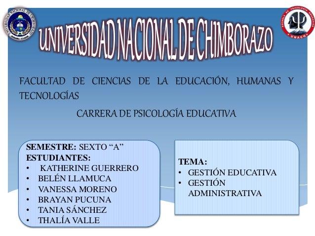 """FACULTAD DE CIENCIAS DE LA EDUCACIÓN, HUMANAS Y TECNOLOGÍAS CARRERA DE PSICOLOGÍA EDUCATIVA SEMESTRE: SEXTO """"A"""" ESTUDIANTE..."""