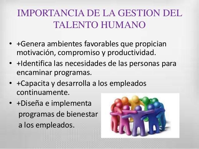 Gestion talento humano ufps for Importancia de la oficina