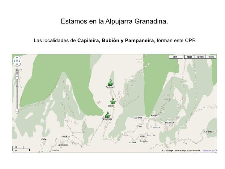 Gestion 2.0 en el CPR Barranco de Poqueira Slide 2