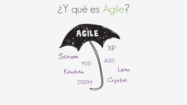 ¿Y qué es Agile?