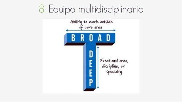 8. Equipo multidisciplinario