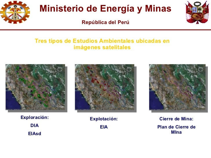 Gesti n del agua en el sector minero fredesbindo vasquez for Ministerio de minas
