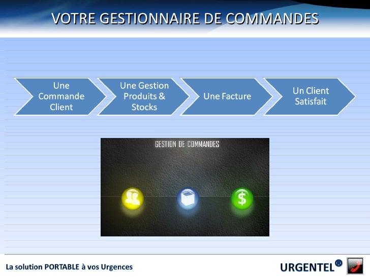 VOTRE GESTIONNAIRE DE COMMANDES