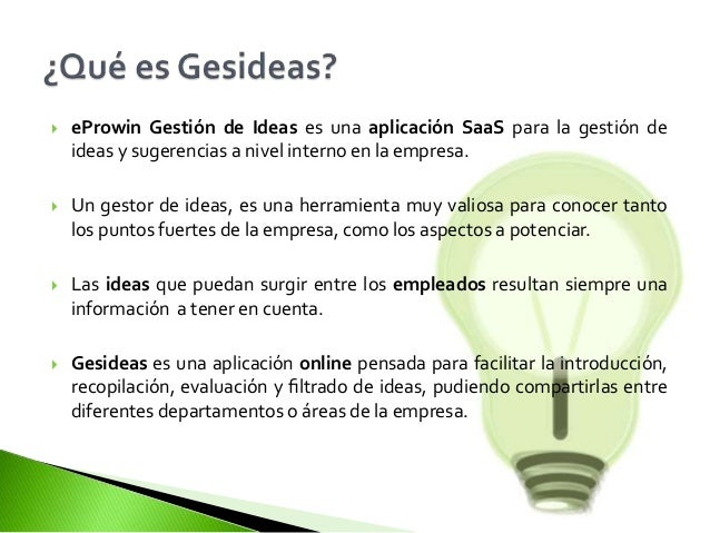 gestion de ideas buzon de sugerencias gesideas