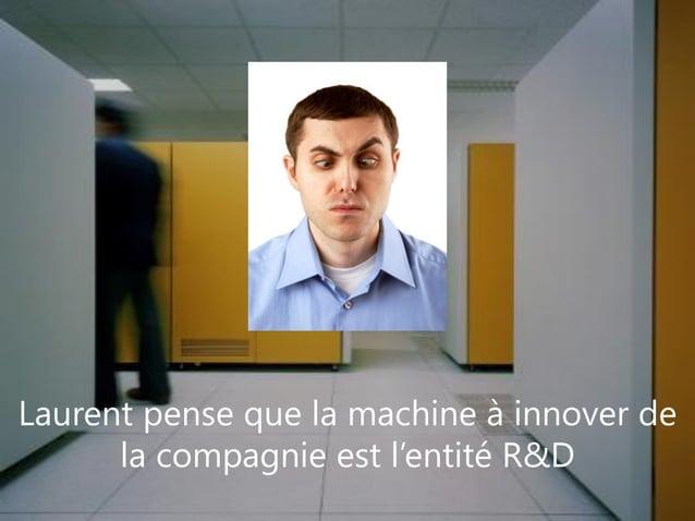 www.pragmantic.com Slide 628 mai 2009 www.pragmantic.comLaurent pense que la machine à innover dela compagnie est l'entité...