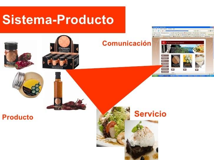 Sistema-Producto Producto Servicio Comunicación