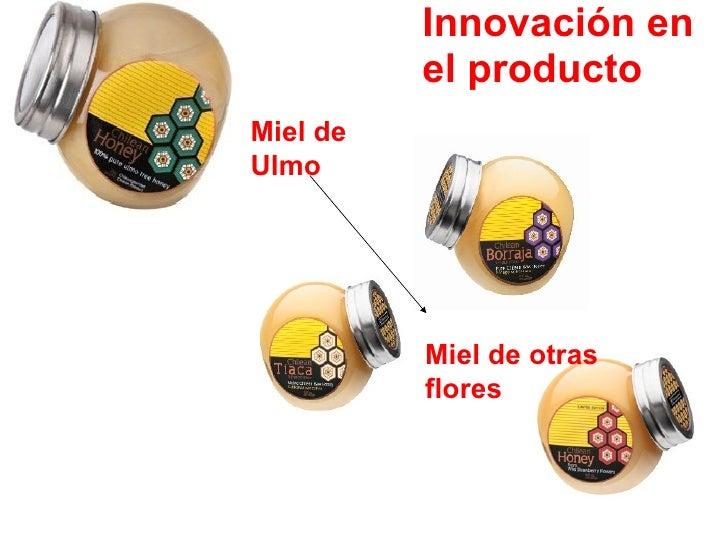 Innovación en el producto Miel de Ulmo Miel de otras flores